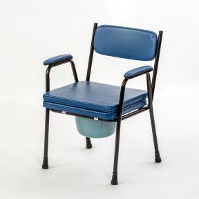 Toaletní židle pevná typ A