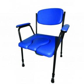 Toaletní židle pevná typ D