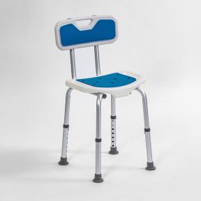 Židle sprchovací  modrá