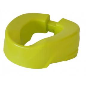 Nástavec na WC - 10cm žlutý