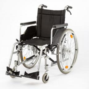 Invalidní vozík KOMFORT s brzdami pro doprovod