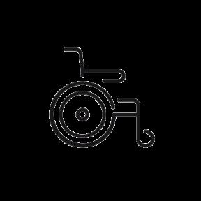 Invalidní vozíky, křesla